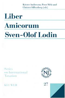 Liber Amicorum Sven- Olof Lodin: Modern Issues in the Law of International Taxation