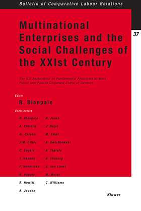 Multinational Enterprise Social Challenges Xx1st Century Oli Decl