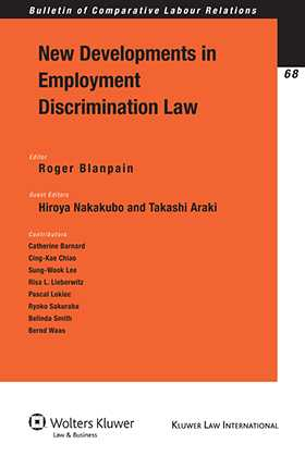 New Developments in Employment Discrimination Law by