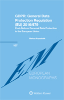GDPR : General Data Protection Regulation (EU) 2016/679: Post-Reform Personal Data Protection in the European Union by KRZYSZTOFEK