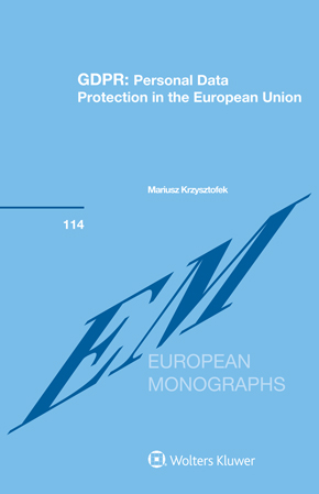 GDPR: Personal Data Protection in the European Union by KRZYSZTOFEK