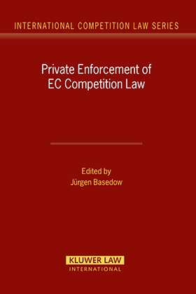 Private Enforcement of EC Competition Law