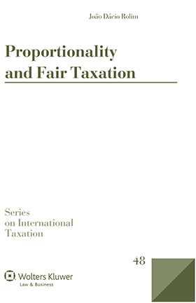 Proportionality and Fair Taxation by João Dácio Rolim