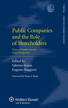 Public Companies and the Role of Shareholders: National Models towards Global Integration