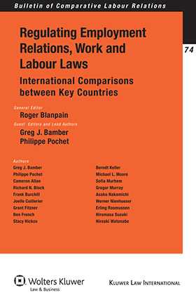 Regulating Employment Relations, Work and Labour Laws. International Comparisons between Key Countries by