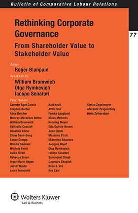Rethinking Corporate Governance: From Shareholder Value To Stakeholder Value by