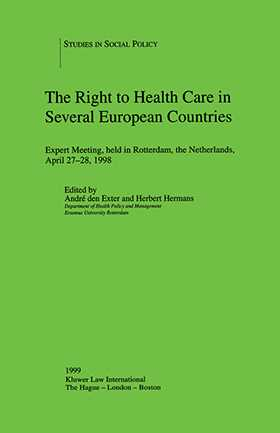 The Right to Health Care in Several European Countries