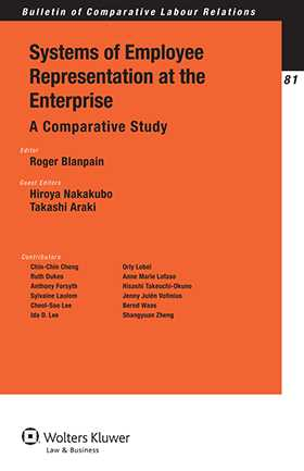 Systems of Employee Representation at the Enterprise. A Comparative Study by