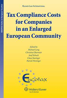 Tax Compliance Costs for Companies in an Enlarged European Community by