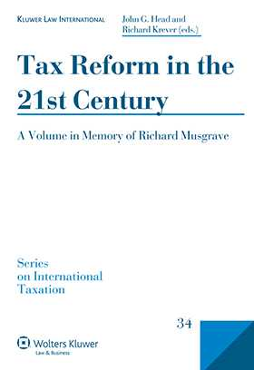 Tax Reform in the 21st Century by Richard Krever, John G. Head