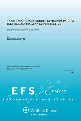 Taxation of Cross-Border Dividends Paid to Individuals from an EU Perspective. Positive and Negative Integration