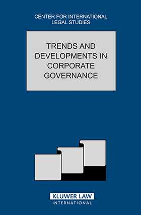 Trends And Developments In Corporate Governance by