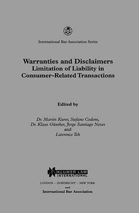 Warranties and Disclaimers: Limitations of Liability in Consumer-Related Transactions