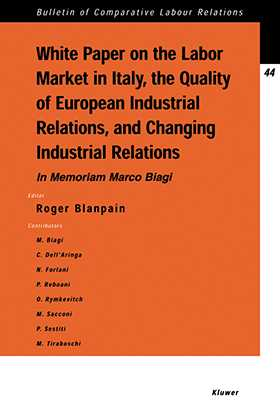 White Paper on the Labour Market in Italy, The Quality of European Industrial Relations and Changing Industrial Relations