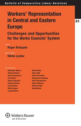 Worker's Representation in Central and Eastern Europe. Challenges and Opportunities for the Works Councils' System