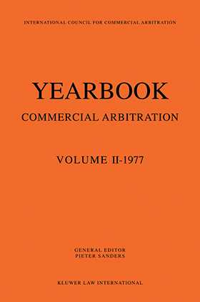 Yearbook Commercial Arbitration 1977