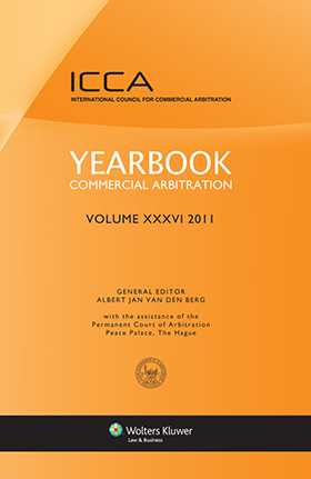 Yearbook Commercial Arbitration Volume XXXVI 2011
