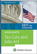 Tax Legislation 2017: Highlights of the Tax Cuts and Jobs Act