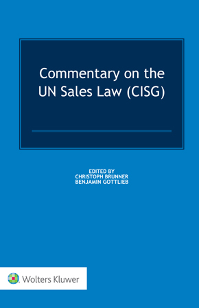 Commentary on the UN Sales Law by BRUNNER