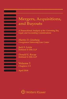 Mergers, Acquisitions, and Buyouts, April 2018: Five-Volume Print Set and CD-ROM Combo