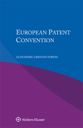 European Patent Convention by STRENC