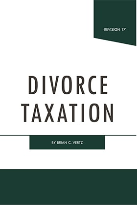 Frumkes and Vertz on Divorce Taxation - James Publishing by Brian C. Vertz ,Melvyn B. Frumkes