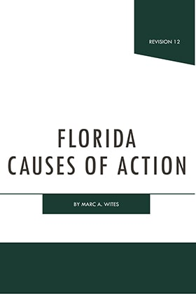 Florida Causes of Action - James Publishing
