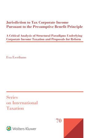Jurisdiction to Tax Corporate Income Pursuant to the Presumptive Benefit Principle by ESCRIBANO