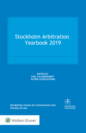 Stockholm Arbitration Yearbook 2019 by CALISSENDORFF