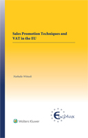 Sales Promotion Techniques and VAT in the EU by WITTOCK
