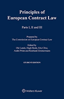 The Principles of European Contract Law, Parts I - III Student Edition by LANDO