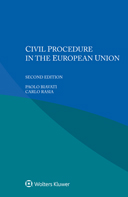 Civil Procedure in the European Union, Second edition by BIAVATI