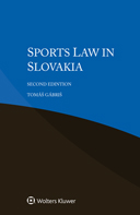 Sports Law in Slovakia, Second Edition by GABRIS