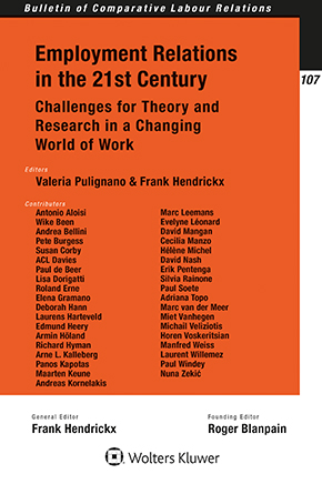 Employment Relations in the 21st Century: Challenges for Theory and Research in a Changing World of Work by PULIGNANO