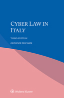 Cyber Law in Italy, Third Edition by ZICCARDI