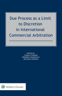 Due Process as a Limit to Discretion in International Commercial Arbitration by CZERNICH