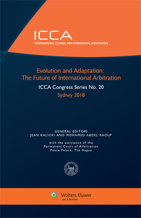 Evolution and Adaptation: The Future of International Arbitration by KALICKI