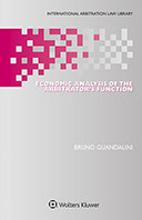Economic Analysis of the Arbitrator's Function by GUANDALINI