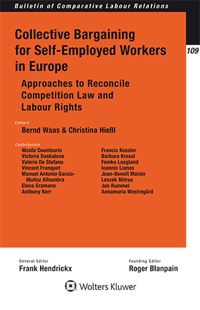 Collective Bargaining for Self-Employed Workers in Europe by WAAS