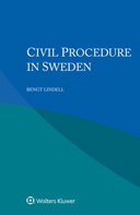 Civil Procedure in Sweden by LINDELL