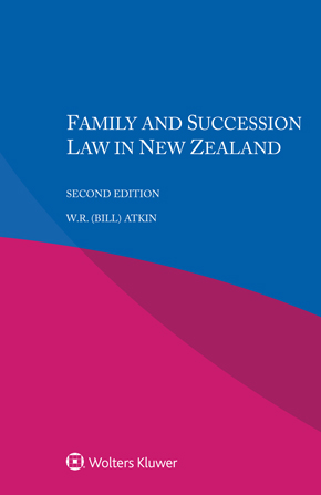 Family and Succession Law in New Zealand, Second edition by ATKIN