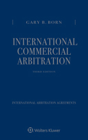 International Commercial Arbitration, Third Edition by BORN