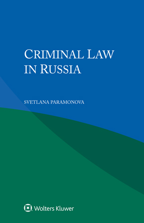 Criminal Law in Russia by PARAMONOVA