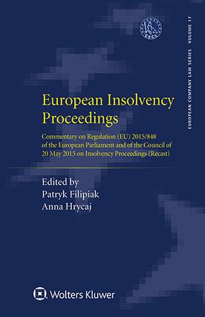 European Insolvency Proceedings by FILIPIAK