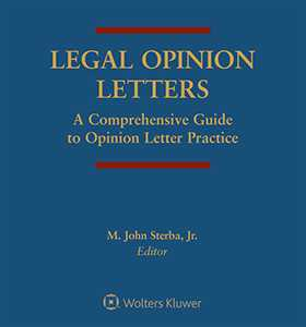 Legal opinion letters a comprehensive guide to opinion letter legal opinion letters a comprehensive guide to opinion letter practice third edition altavistaventures Gallery
