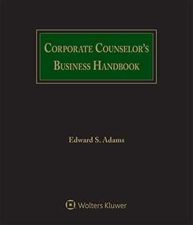 Corporate Counselor's Business Handbook