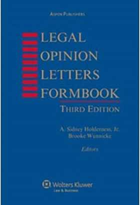 LEGAL OPINION LETTERS FORM 3E W/ CD