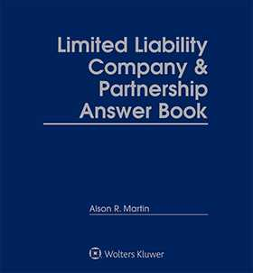 Limited Liability Company & Partnership Answer Book, Third Edition