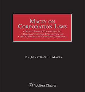 Macey on Corporation Laws