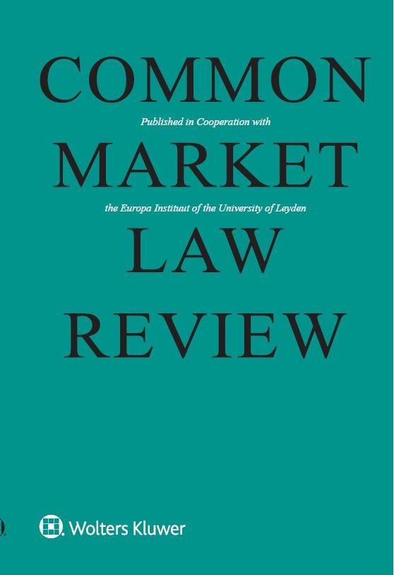 Common Market Law Review Online